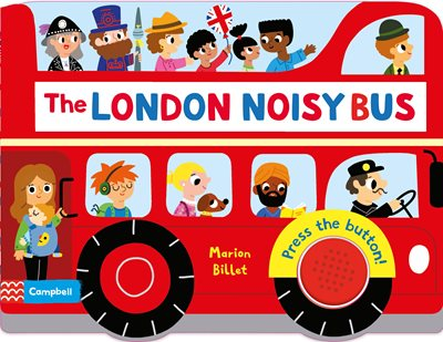 Book cover for The London Noisy Bus